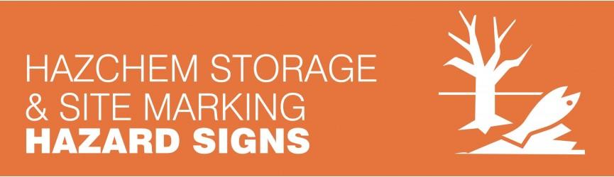 Hazchem Storage and Site Marking