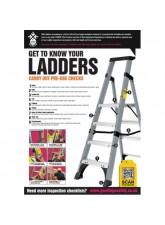 Ladder Inspection Checklist Poster (A2)
