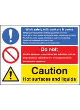 Work Safety with Cookers & Ovens