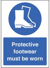 A4 Protective Footwear Must be Worn