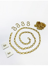 Brass Suspended Sign Chain